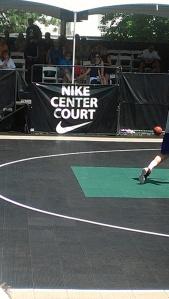 Nike Center Court, elite games, hoopfest